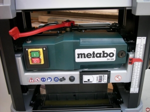 Raboteuse Metabo DH 330 © Zone Outillage