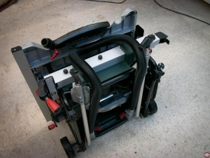 Scie sur table Metabo TS 254 © Zone Outillage