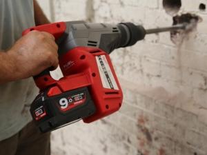Perforateur burineur sans fil SDS-MAX M18 CHM Milwaukee © Benjamin LEHARIVEL - Zone Outillage