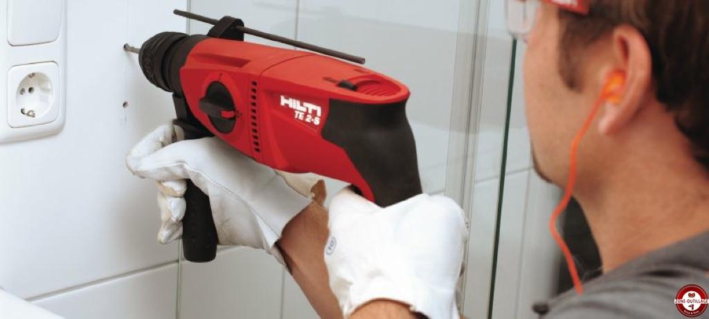 Test et avis : Perforateur filaire TE 2-S HILTI Zone Outillage