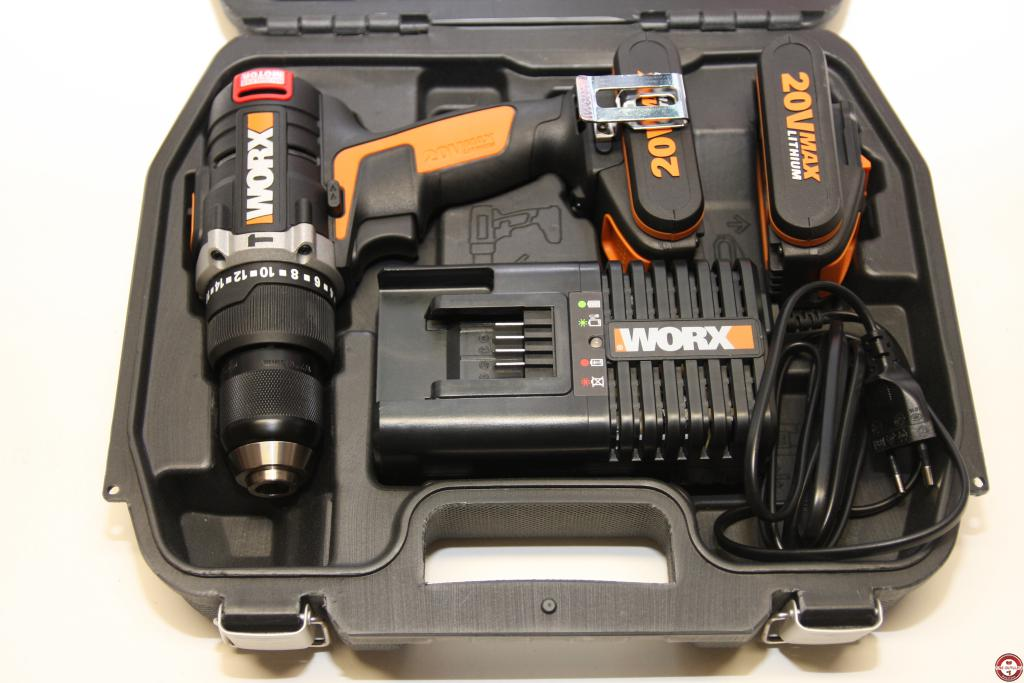 Perceuse worx 18v