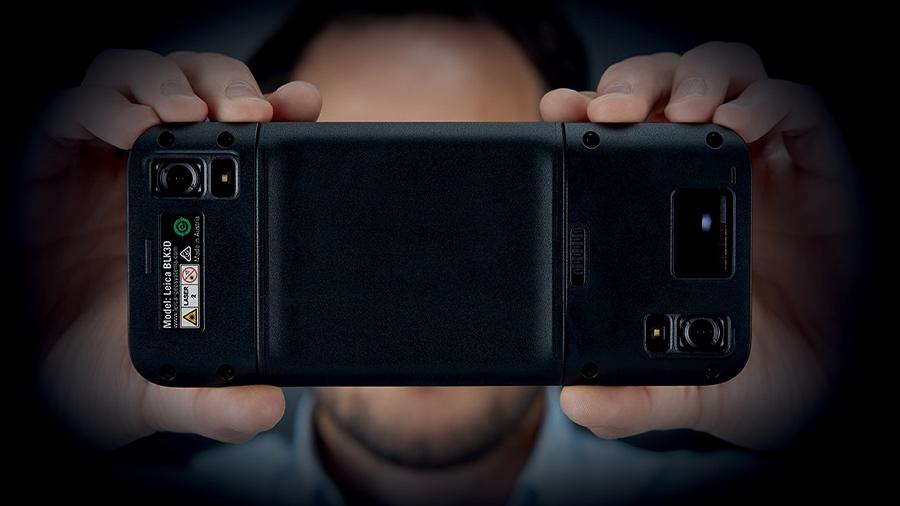 Télémètre laser BLK3D Leica