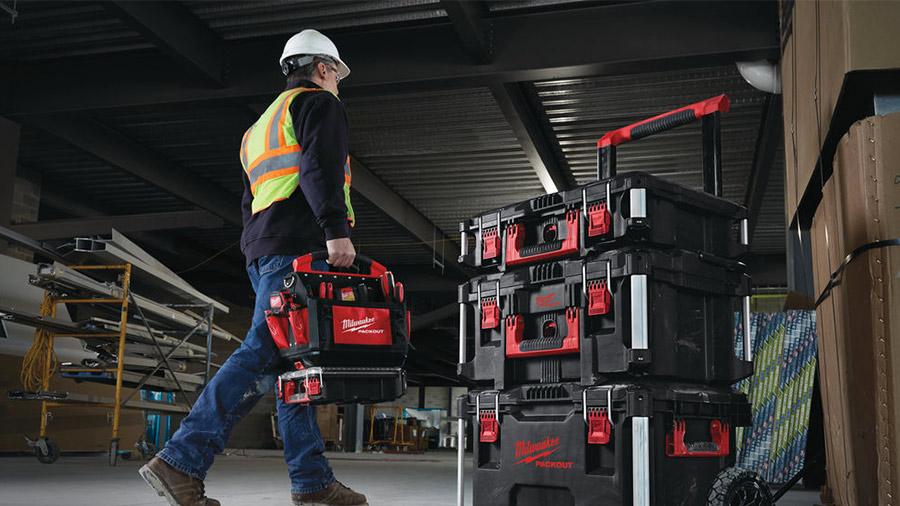Milwaukee packout Tech Sac à Outils 58 Poches Rigide Poche Outil Système de stockage