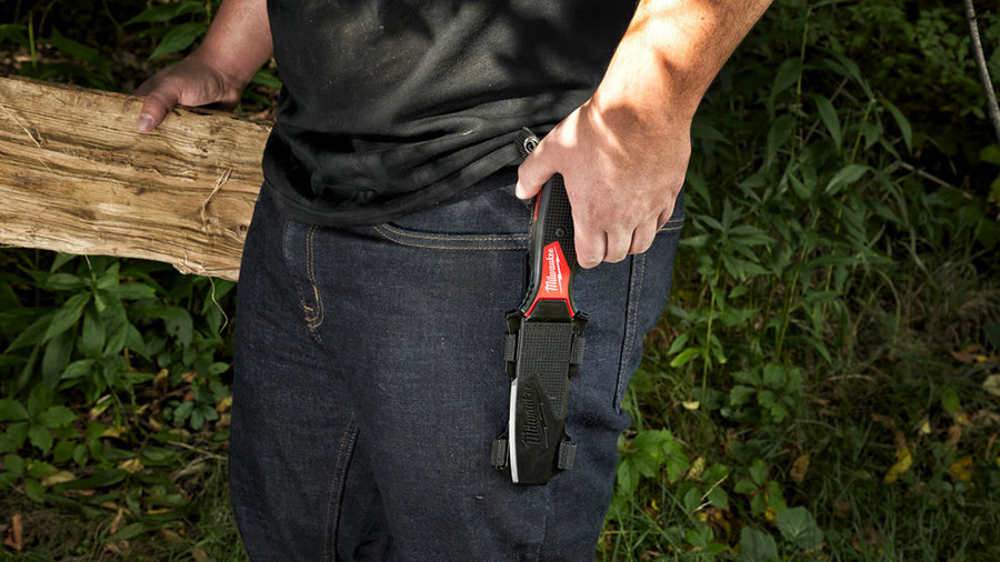 Nouveau couteau à lame fixe HARDLINE Milwaukee