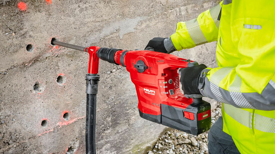 Perforateur burineur SDS-MAX sur batterie HILTI TE 60-A36