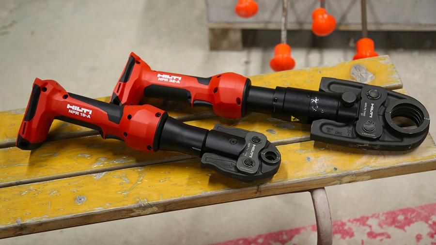 Nouvelles sertisseuses sur batterie HILTI NPR 19-A et NPR 32-A
