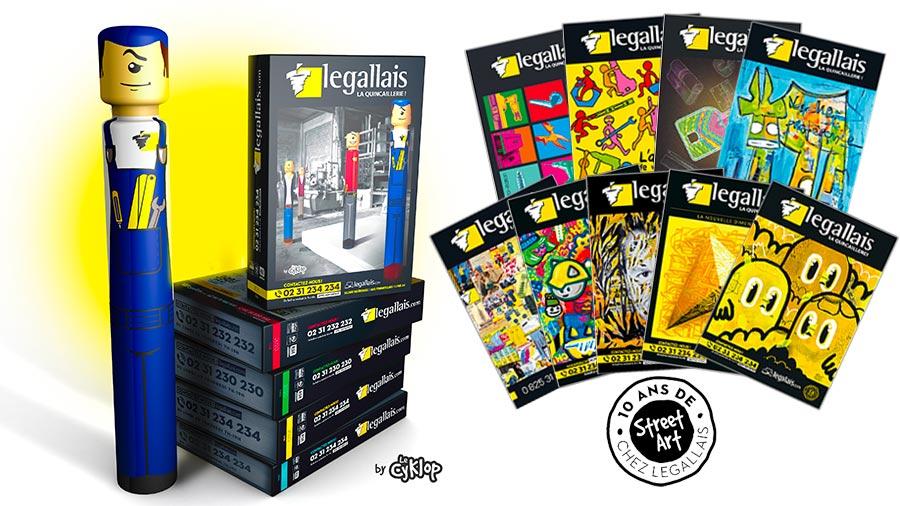 Legallais dévoile son nouveau catalogue2020 en collaboration avec l'artiste le CyKlop