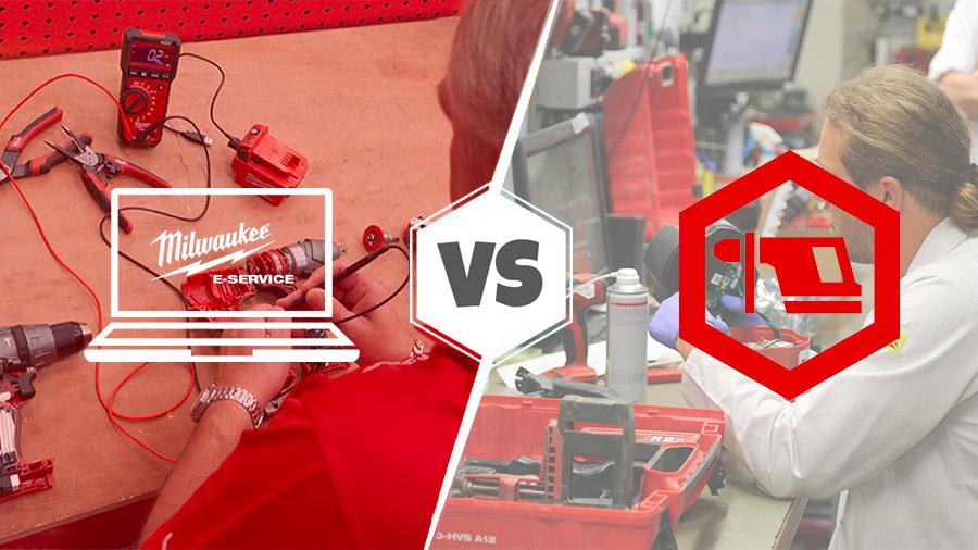 E-ServiceVS. Tool Service : quel SAVest le plus efficace ?