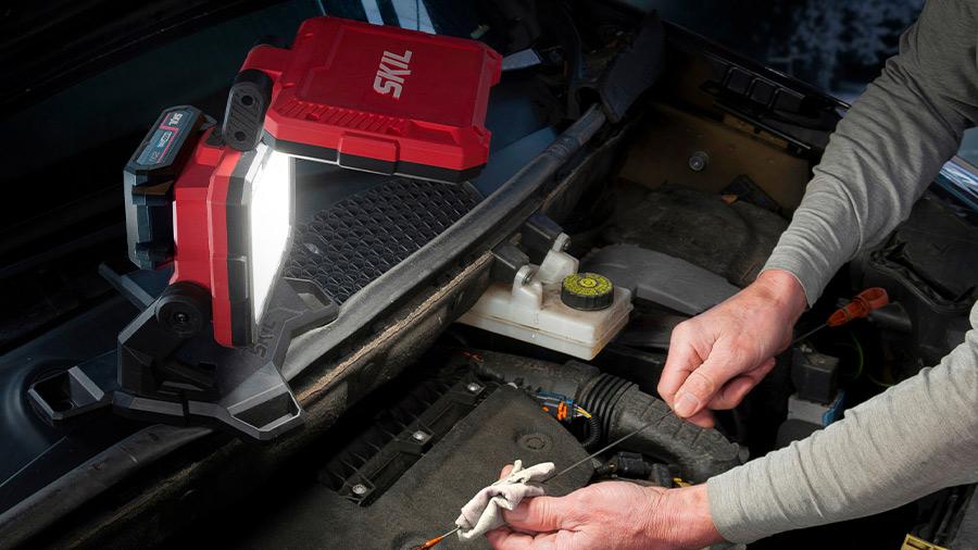 Double projecteur LED sur batterie SKIL VA1E3157CA Energy Platform