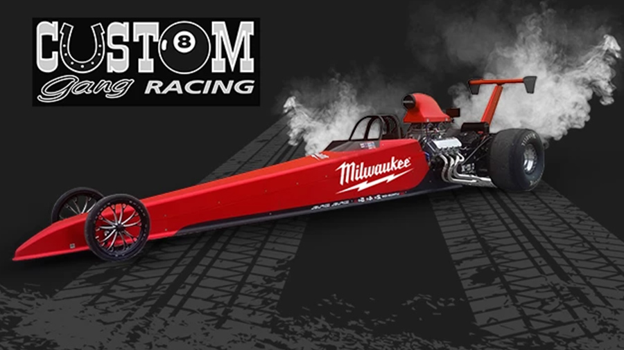 Dragster Milwaukee du Custom Gang Racing