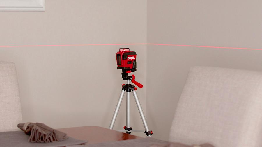 Laser croix 360° lignes rouges SKIL 1960 DA