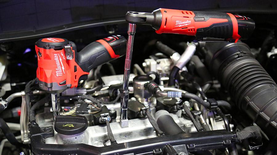Nouveaux outils sans fil M12 pour l'automobile
