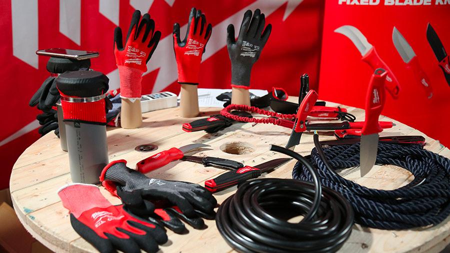 Nouveaux couteaux et gants de protection Milwaukee