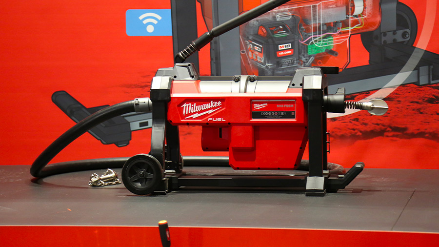 Déboucheur à section sur batterie Milwaukee M18 FSSM