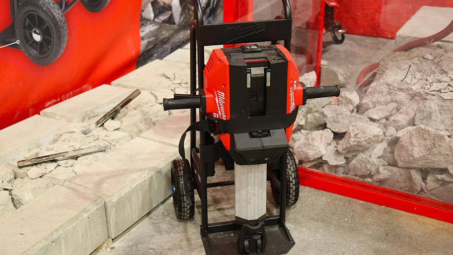 MXF DH2528H : le premier marteau de démolition HEX 28 mm sur batterie du marché