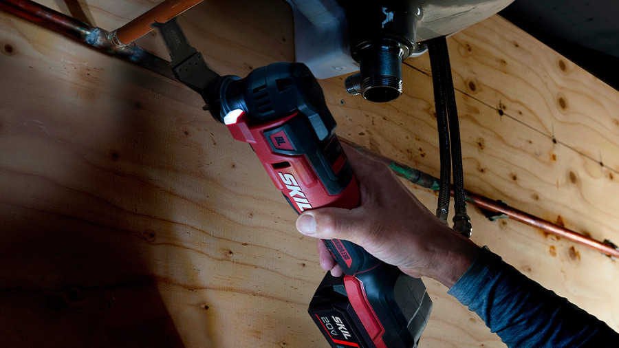 Outil multifonctions SKIL MF1E 3650 CA brushless