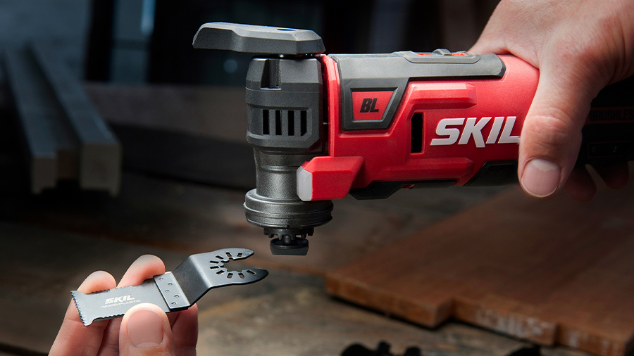 SKIL dévoile son outil multifonction sans fil brushless MF1E 3650 CA