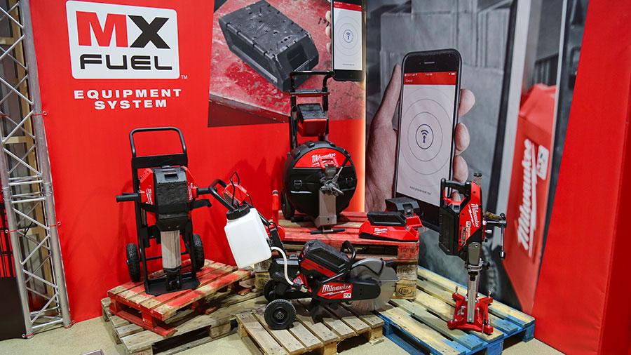 Nouvelle gamme d'outils sans fil MX FUEL Milwaukee