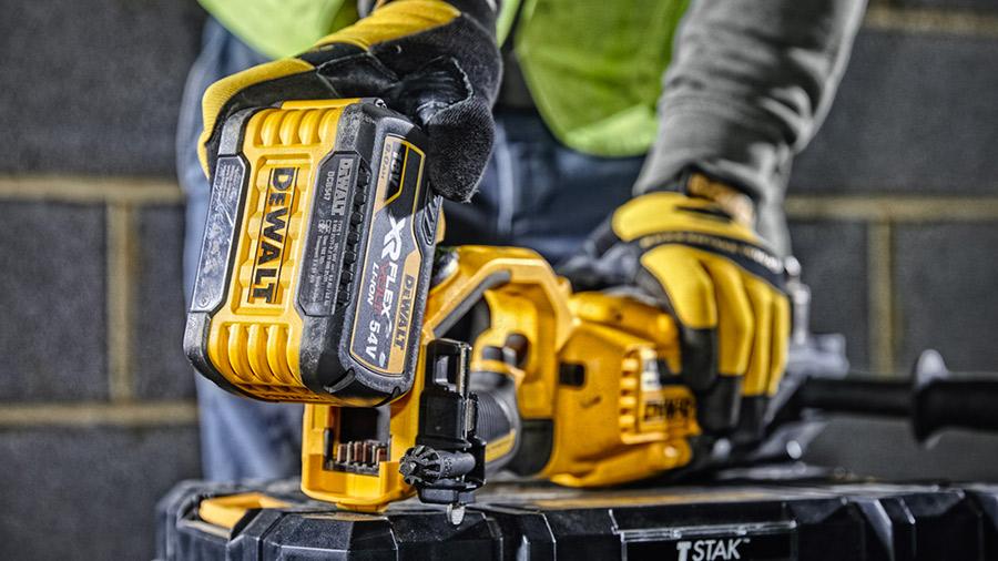 Nouvelle perceuse de charpente sur batterie XR FLEXVOLT 54V DCD470N DEWALT