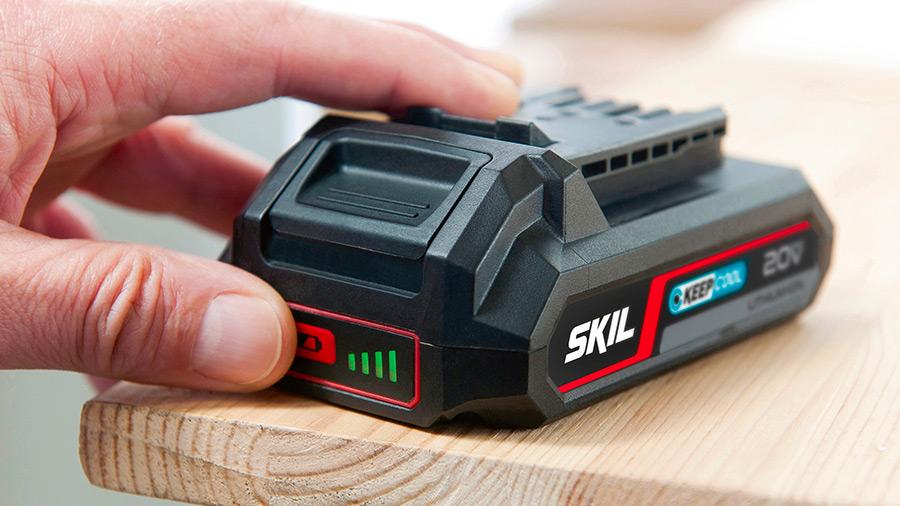 Nouvelle batterie 20 V Energy Platform SKIL