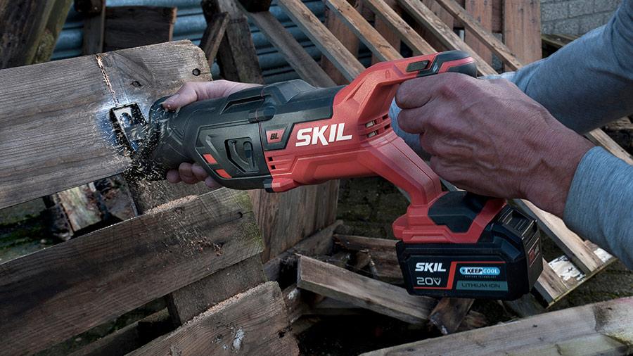 Scie sabre brushless sur batterie SW13480CA Energy Platform SKIL