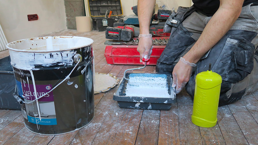 Séchez votre rouleau de peinture en quelques secondes avec ROLLING DRY