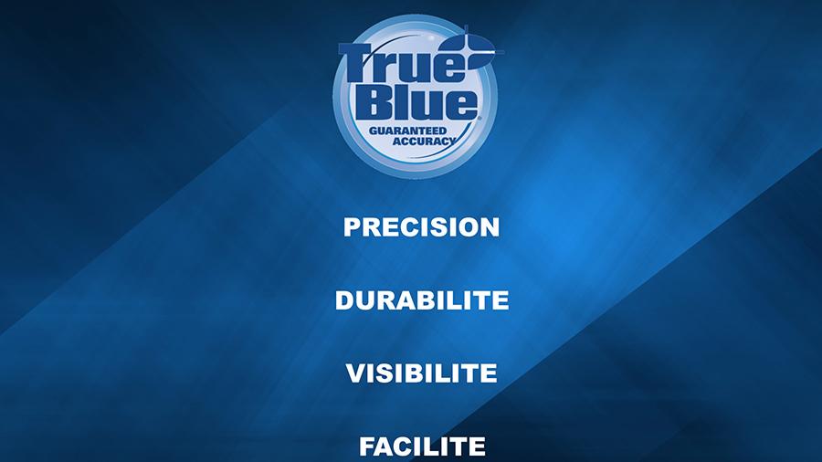Technologie True Blue Empire : Pour des mesures précises en toutes circonstances