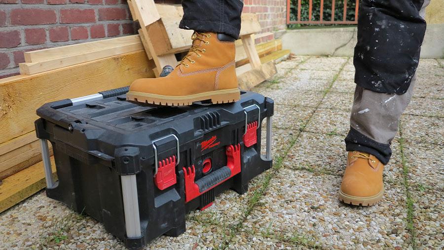 Test et avis des chaussures de travail TIMBERLAND PRO Iconic S3
