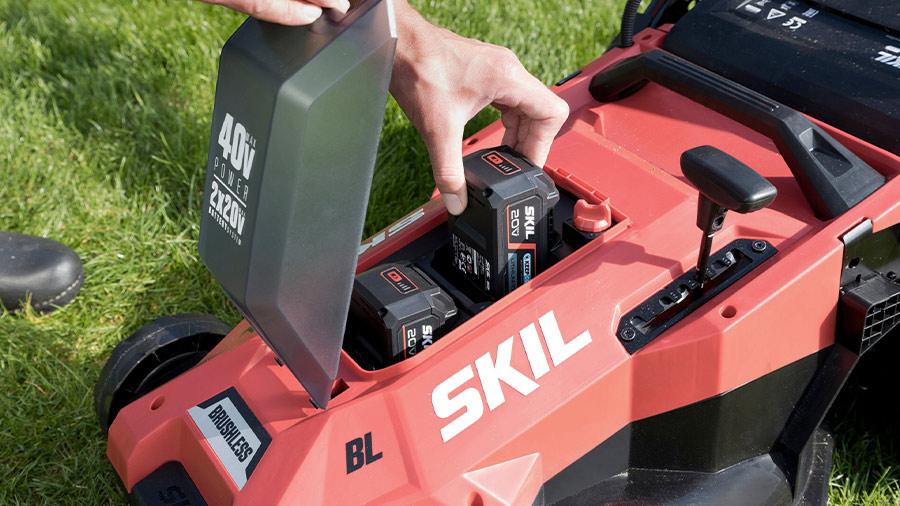 Tondeuse à gazon sur batterie Energy Platform GM1E0140BA SKIL