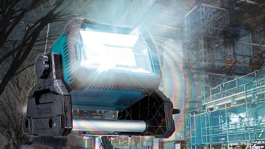 Éclairage LED professionel sans fil Makita DML809