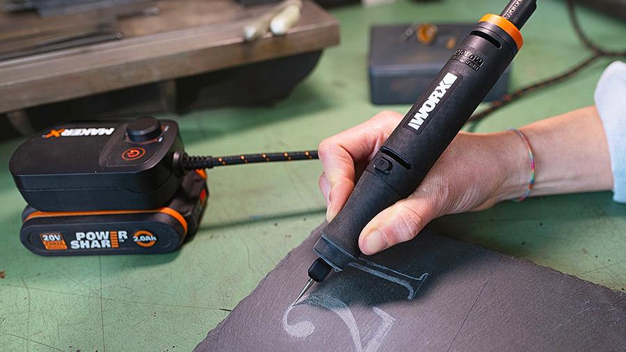 MarkerX outil rotatif 20 V WX739.9 WORX brushless sur batterie