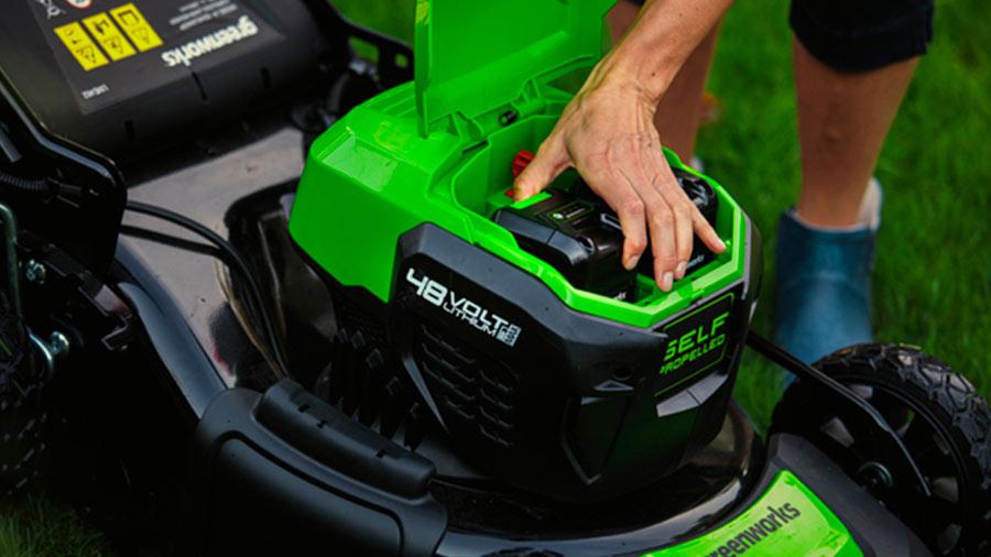 tondeuse sans fil brushless Greenworks 48 V 2021