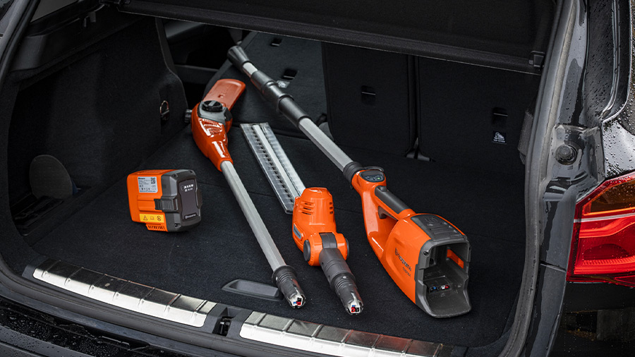 Husqvarna Combi Concept 120iTK4 : un outil sur batterie multifonction
