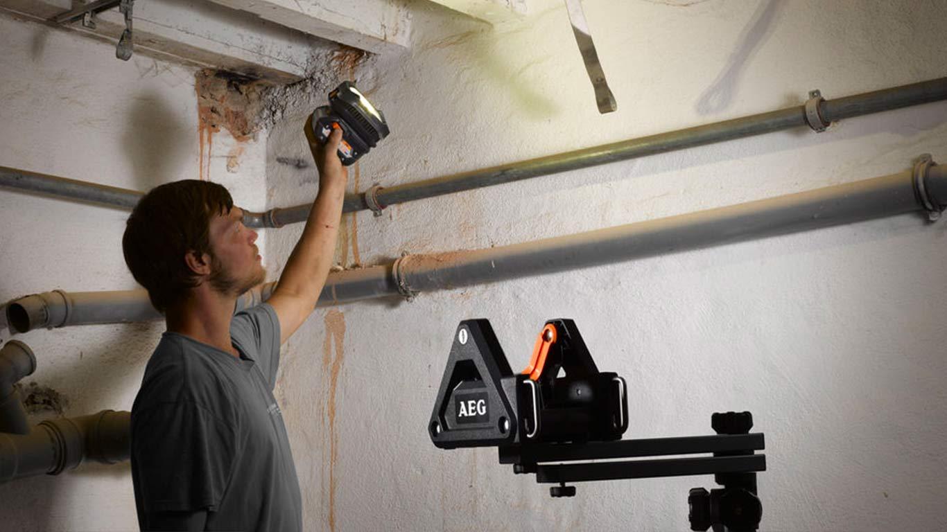 Système d'éclairage sans fil AEG BFL18