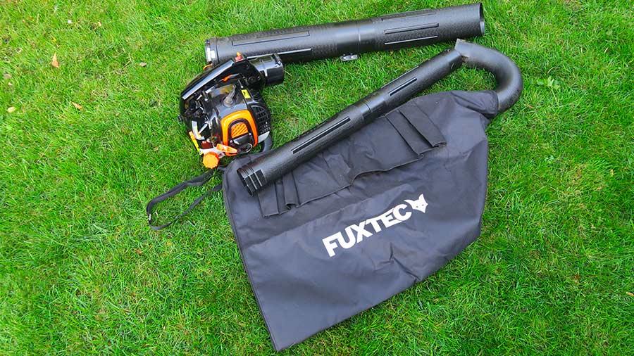 Aspirateur souffleur broyeur thermique professionnel FUXTEC FX-LBS126P