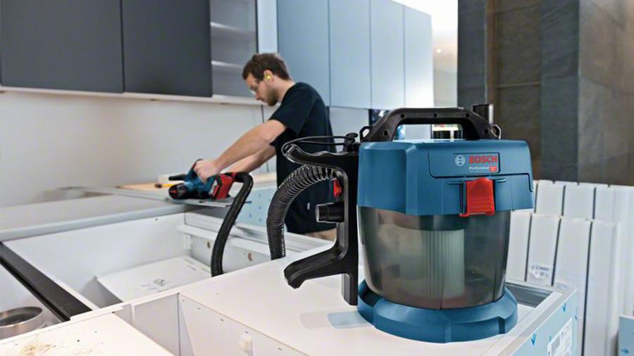 test et prix aspirateur sans fil GAS 18V-10 L Kit Bosch professional