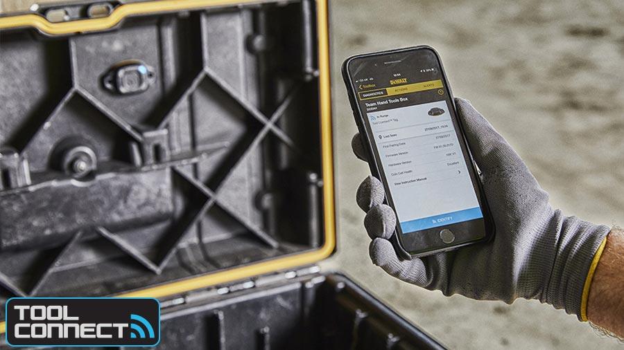 Avis et prix solution TOOL CONNECT DEWALT Bluetooth