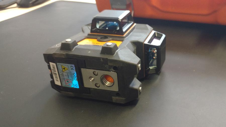 Test et avis Laser lignes GEO6X SP GREEN KIT Geo Fennel