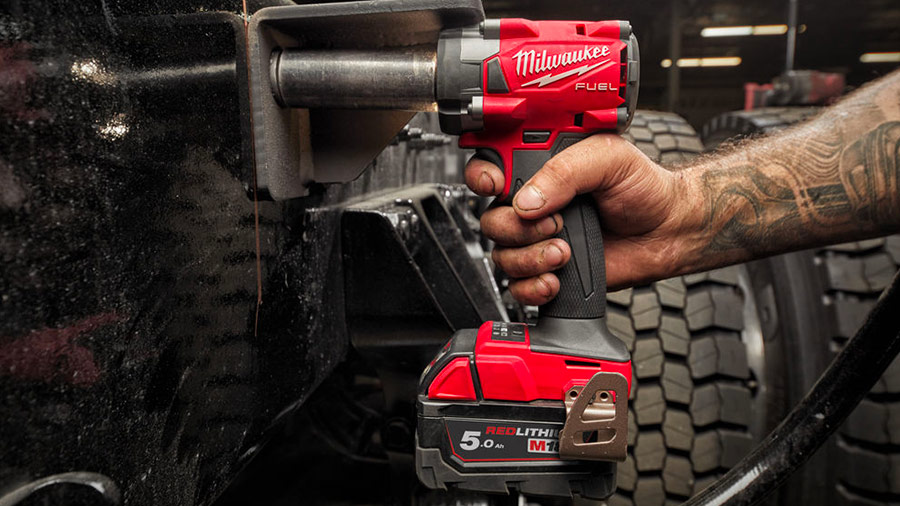 Boulonneuse à chocs Brushless Milwaukee M18 FIW2F38