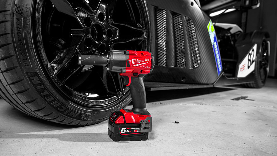 Boulonneuse à chocs Brushless Milwaukee M18 FMTIWF12