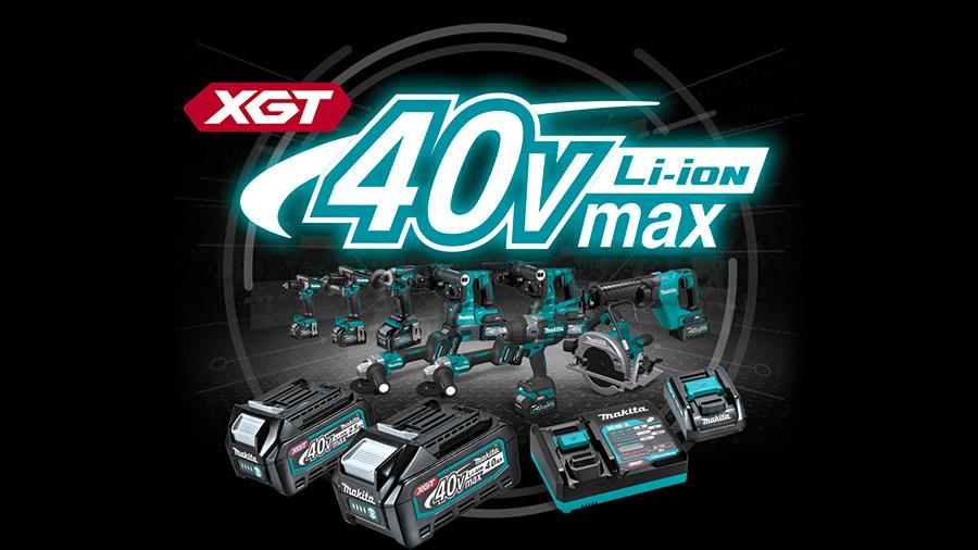Gamme sans fil XGT 40 V MAKITA