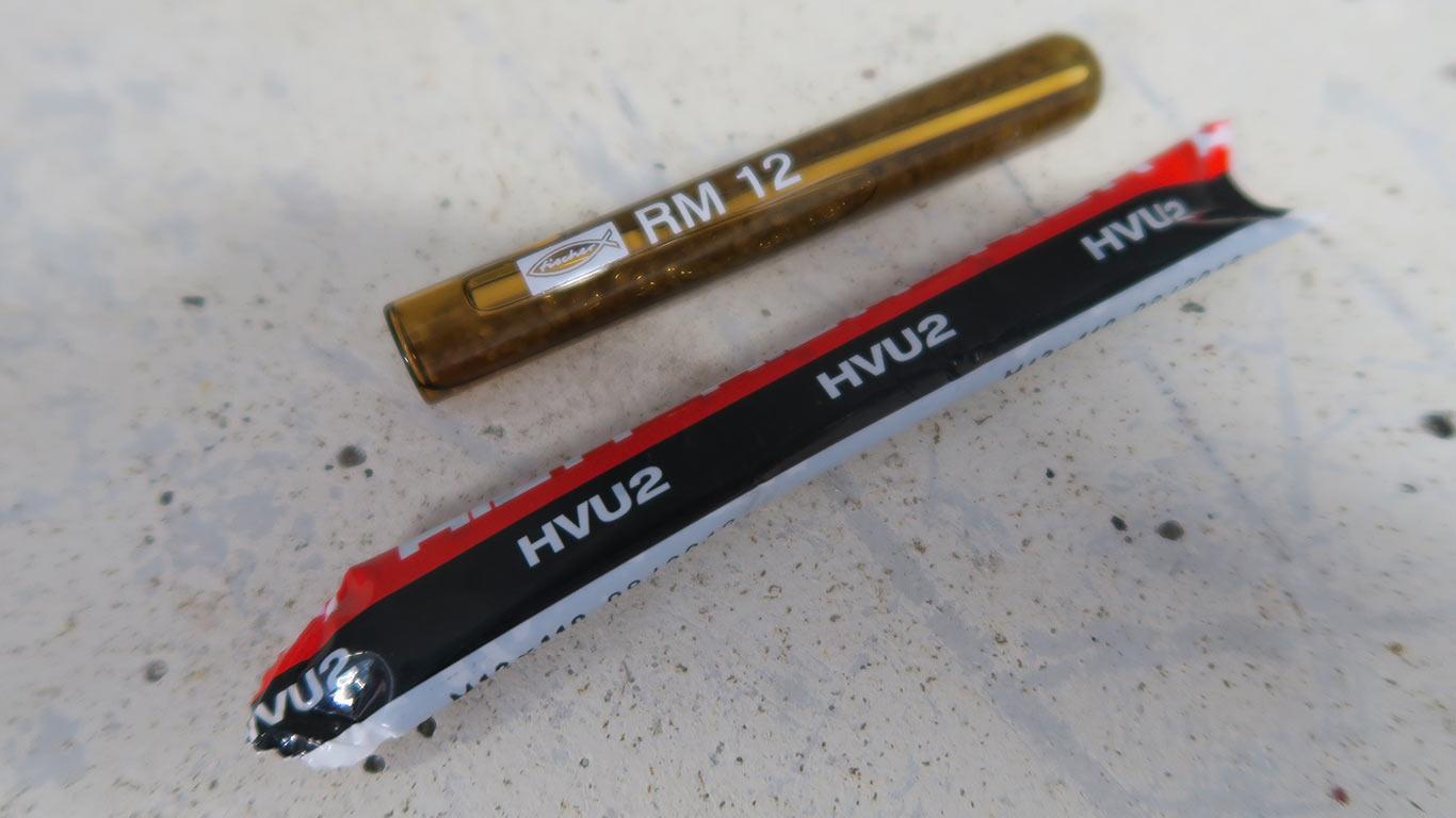 HVU2 Hilti meilleure capsule de scellement chimique © Zone Outillage - Benjamin Leharivel