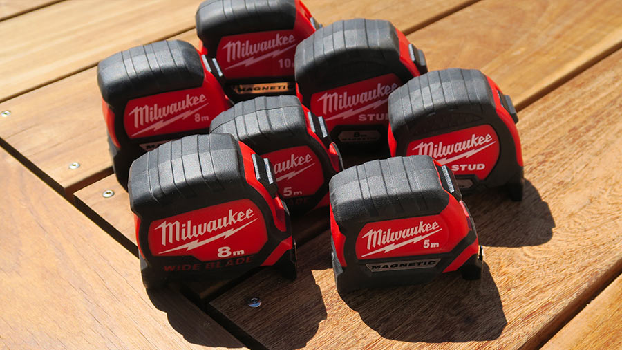 Milwaukee complète sa gamme de mètres à ruban premium STUD, MAGNETIC et WIDE BLADE