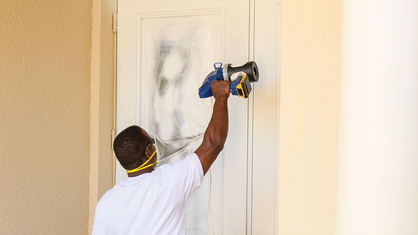 pulv risateurs de peinture portable ultra le concentr du savoir faire graco zone outillage. Black Bedroom Furniture Sets. Home Design Ideas