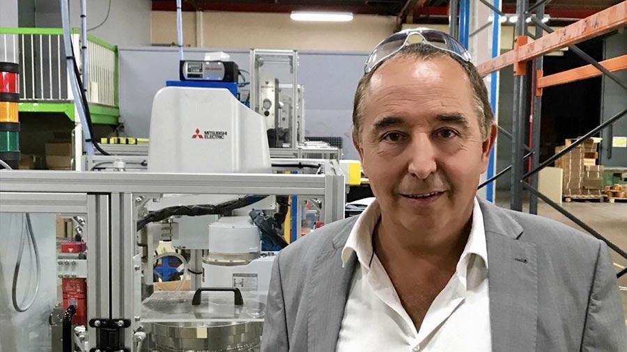 Portrait Martial DEVAUX Stanley directeur de l'usine de Besançon