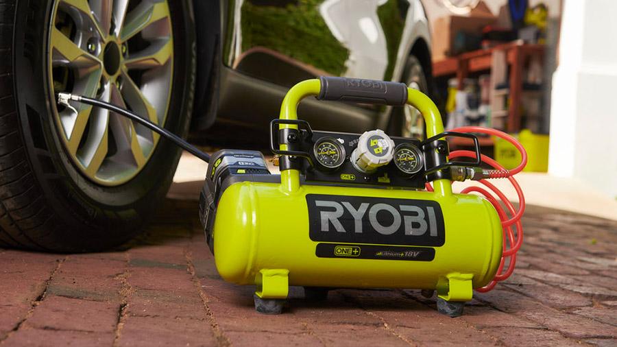 Test complet et avis du compresseur à cuve R18AC-0 Ryobi