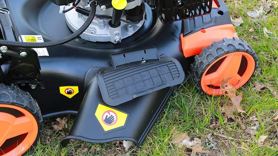 tondeuse thermique FUXTEC autotractée à démarrage électrique E-Start FX-RM5196eS avec zipgo