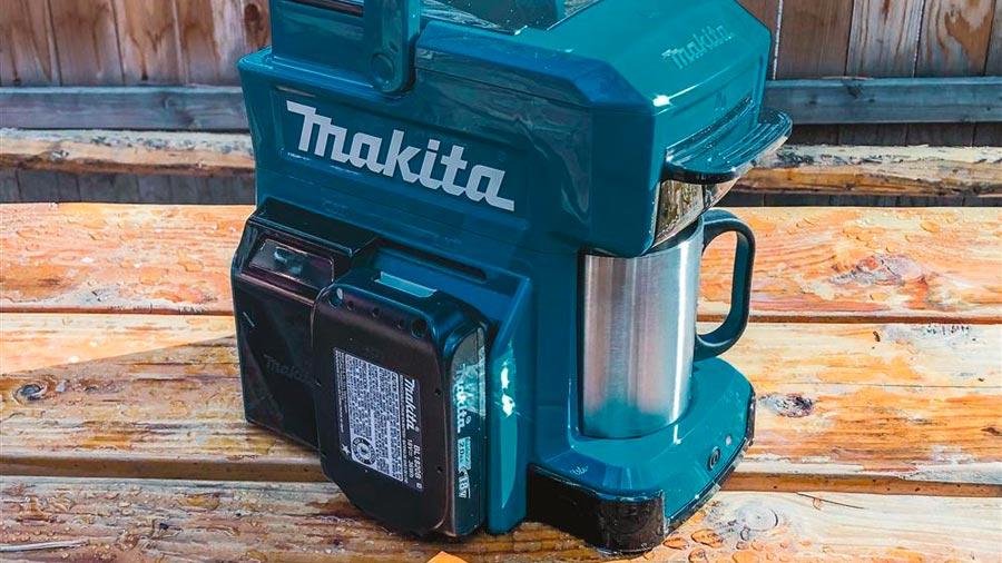Makita Batterie-MacHine à Café-dcm501z