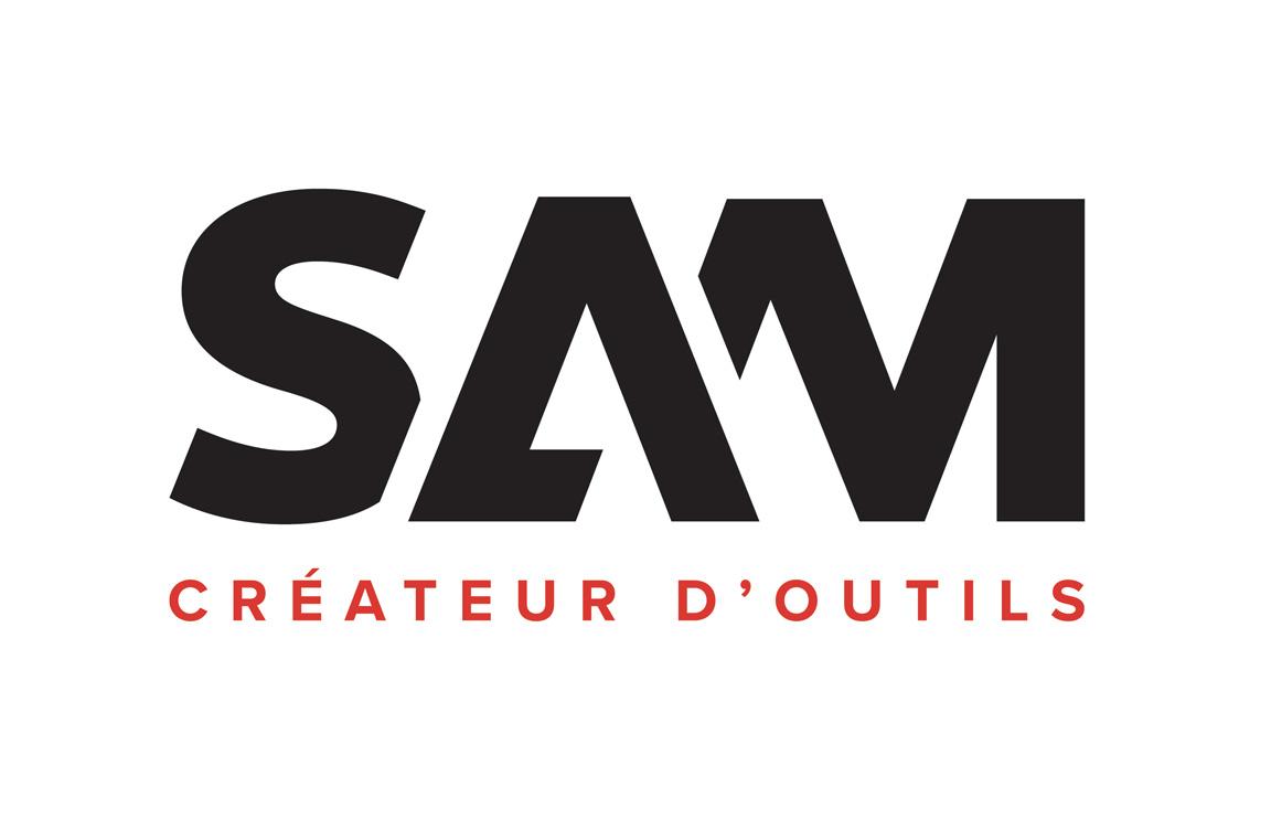 sam outillage redessine son identit travers un nouveau logo et une nouvelle signature zone. Black Bedroom Furniture Sets. Home Design Ideas