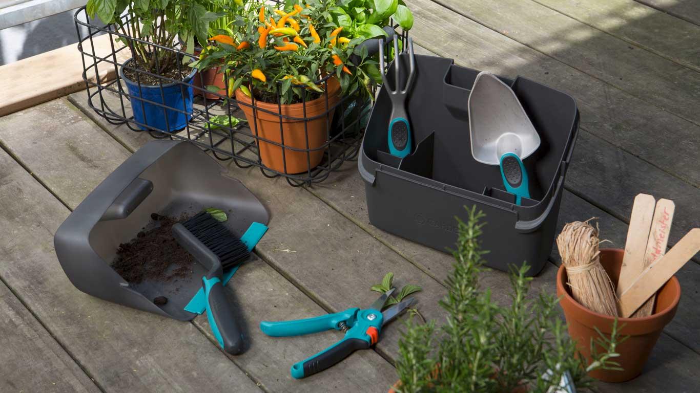 Emejing outils de jardin gardena images for Jardin urbain cormontreuil